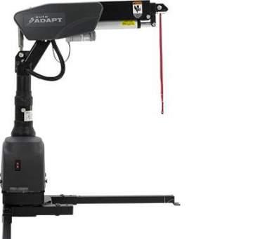 Grue télescopique pour charger des fauteuils roulant motorisés à Morcenx